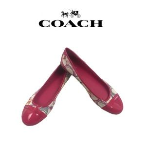 Coach Multi-Color Flat Shoes. In good shape